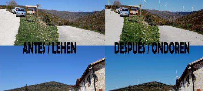 Encuesta: Impacto visual, socioeconómico y territorial de la implantación de los parques eólicos de Mairaga y Barranco Mairaga